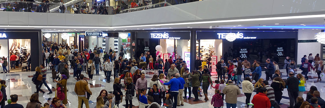 Galeria comercial en Nevada Shopping