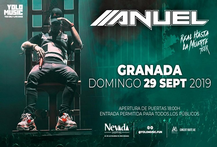 Concert Anuel AA in NEVADA SHOPPING