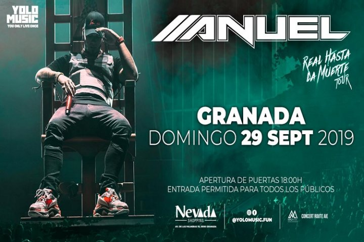 Concierto Anuel AA en NEVADA SHOPPING