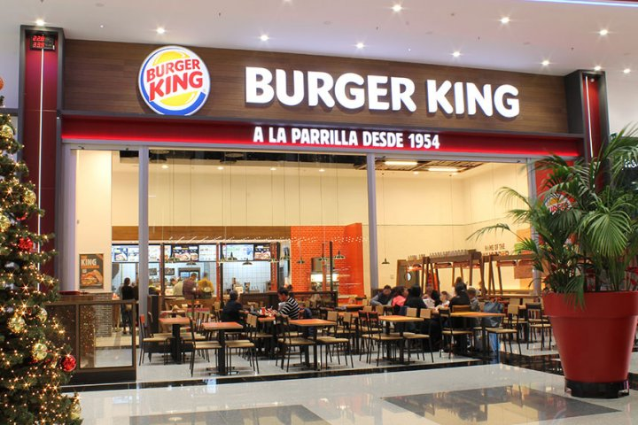 Restaurante Burger King Nevada Shopping