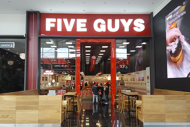 five guys nevada
