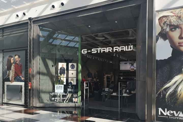g star raw nevada shopping