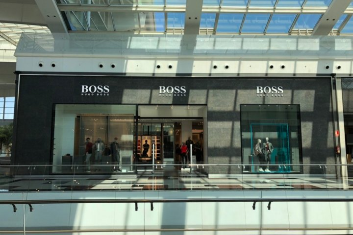 tienda hugo boss nevada shopping granada