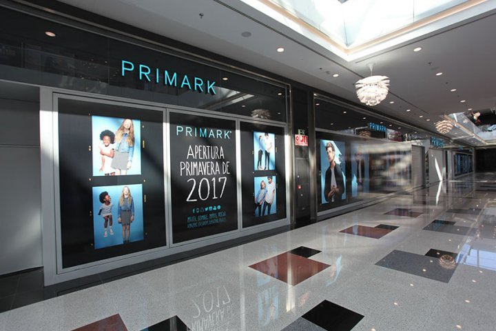 primark inauguración nevada shopping