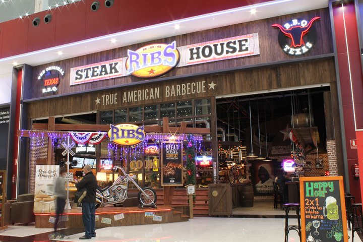 Restaurante Rib's Nevada Shopping